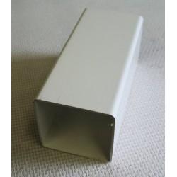 Lisse PVC 80 x 80 mm, 1 mètre linéaire