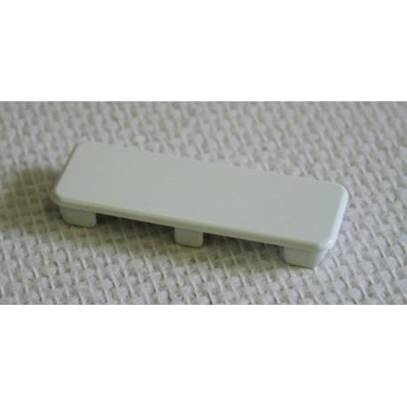Bouchon pour lisse PVC 80 x 28 mm