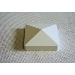 Bouchon pour lisse PVC 80 x 80 mm
