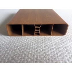 Lisse PVC chêne doré 120 x 28 mm