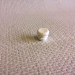Bouchon blanc en PVC pour tube de diametre 20 mm
