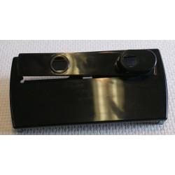 Enjoliveur pour serrure en applique pour portail PVC ouvrant ou coulissant.