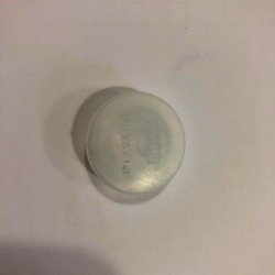Bouchon marron en PVC pour trou de diametre 16 mm