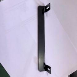 Butée portillon pour gache électrique encastrée en inox noir