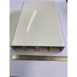 Lisse PVC 130 x 35 mm, 1 mètre linéaire