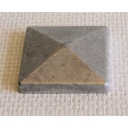 Tête de poteau 60 x 60 mm