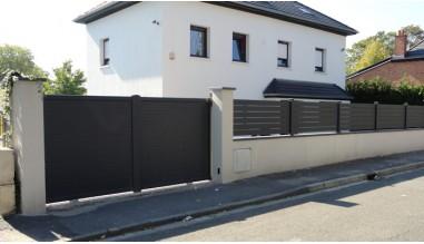 Portail et clôture aluminium alias